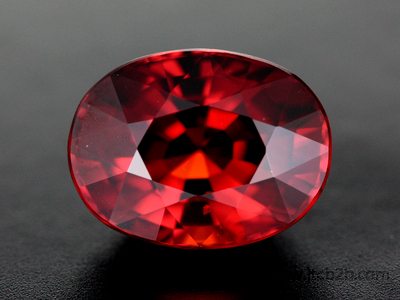 Faceted Spessartite