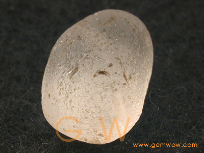 """Water worn Frosted Rounded"" Moonstone Pebble"