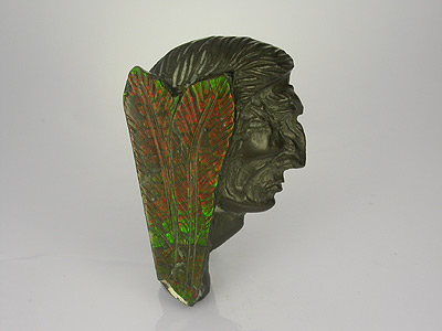 Carved Ammolite
