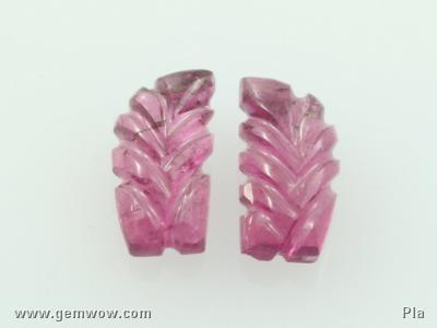Tourmaline Carving