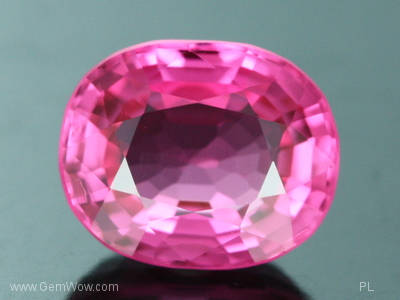 Faceted Pink Princess Burmese Spinel