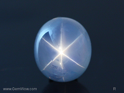 """Blue Peace"" Star Sapphire from Burma"